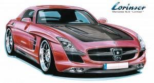 Lorinser Mercedes SLS 1 Kl-300x162 in SLS Studie von Lorinser