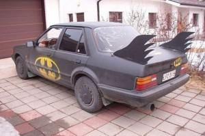 Bat-Mobil in Eigenkreation